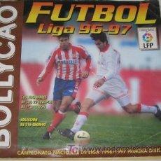 Álbum de fútbol completo: ÁLBUM BOLLYCAO LIGA 96-97. Lote 26428983