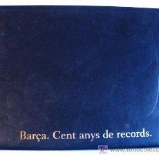 Álbum de fútbol completo: BARÇA . CENT ANYS DE RECORDS .. Lote 26440005