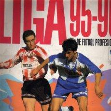 Álbum de fútbol completo: ÁLBUM LIGA 95-96 DE PANINI. Lote 14722215