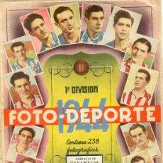 Álbum de fútbol completo: (AL-591)ALBUM CROMOS FUTBOL FOTO DEPORTE 1943-44. Lote 7960188