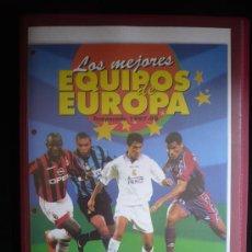 Álbum de fútbol completo: LOS MEJORES EQUIPOS DE EUROPA 1997 1998. PANINI SPORTS. COMPLETO. VER FOTOS. Lote 26654867