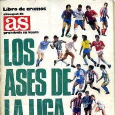 Álbum de fútbol completo: ALBUM LOS ASES DE LA LIGA 87-88 , DE AS. . Lote 23279616