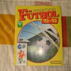 Álbum de fútbol completo: ALBUM ESTRELLAS DE LA LIGA FUTBOL 92-93 PANINI-COMPLETO. Lote 23360859