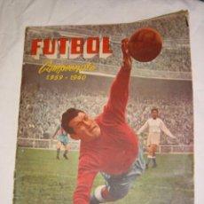Álbum de fútbol completo: ALBUM CROMOS FUTBOL 1959/1960 (COMPLETO). Lote 27077611