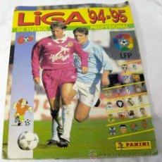 Caderneta de futebol completa: ALBUM FÚTBOL LIGA 94 - 95 DE PANINI 1994 - 1995 COMPLETO. Lote 236299715