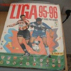 Álbum de fútbol completo: ALBUM PANINI LIGA 95-96. Lote 5644213