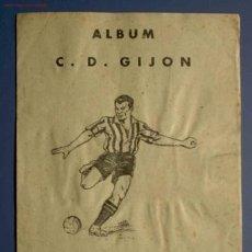 Álbum de fútbol completo: ÁLBUM C. D. GIJÓN. ¿SPORTING DE GIJÓN?. CROMOS DEPORTES E INSTRUCCION. EDITORIAL VALENCIANA, 1941.. Lote 26450562