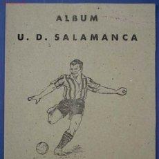 Álbum de fútbol completo: ALBUM U. D. SALAMANCA. CROMOS DEPORTES E INSTRUCCION. EDITORIAL VALENCIANA. 1941.. Lote 26473852