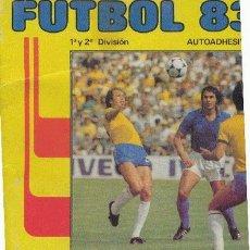 Álbum de fútbol completo: ALBUM FUTBOL 83 1ª Y 2ª DIVISION. Lote 2525239