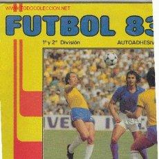 Álbum de fútbol completo: ALBUM FUTBOL 83 1ª Y 2ª DIVISION. Lote 2525242