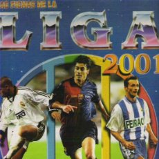 Álbum de fútbol completo: LAS FICHAS DE LA LIGA 2001 *** CAMPEONATO NACIONAL DE LIGA 2000 / 2001***. Lote 17787138
