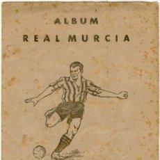 Álbum de fútbol completo: (AL-762)ALBUM CROMOS FUTBOL REAL MURCIA 1941-42 (COMPLETO). Lote 10946277