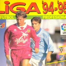 Álbum de fútbol completo: (AL-827)ALBUM CROMOS DE FUTBOL LIGA 94-95 (COMPLETO). Lote 11235025