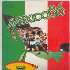 Álbum de fútbol completo: (AL-847)ALBUM CROMOS FUTBOL MEXICO 86. Lote 21412491