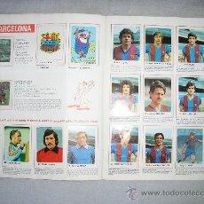 Álbum de fútbol completo: ALBUM FUTBOL 80-81 CROMOCROM COMPLETO. Lote 11249386