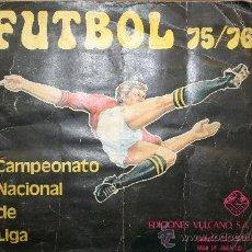 Álbum de fútbol completo: FUTBOL 75/76 - COMPLETO. Lote 27133589