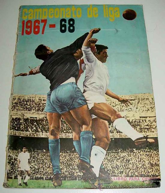 ANTIGUO ALBUM CROMOS COMPLETO DEL CAMPEONATO DE LIGA 1967 / 68 - FUTBOL - ALBUM DE EDITORIAL DISGRA (Coleccionismo Deportivo - Álbumes y Cromos de Deportes - Álbumes de Fútbol Completos)