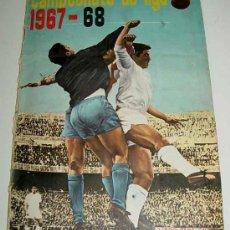 Álbum de fútbol completo: ANTIGUO ALBUM CROMOS COMPLETO DEL CAMPEONATO DE LIGA 1967 / 68 - FUTBOL - ALBUM DE EDITORIAL DISGRA . Lote 27301850