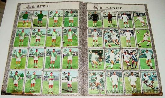 Álbum de fútbol completo: ANTIGUO ALBUM CROMOS COMPLETO DEL CAMPEONATO DE LIGA 1967 / 68 - FUTBOL - Album de Editorial Disgra - Foto 3 - 27301850