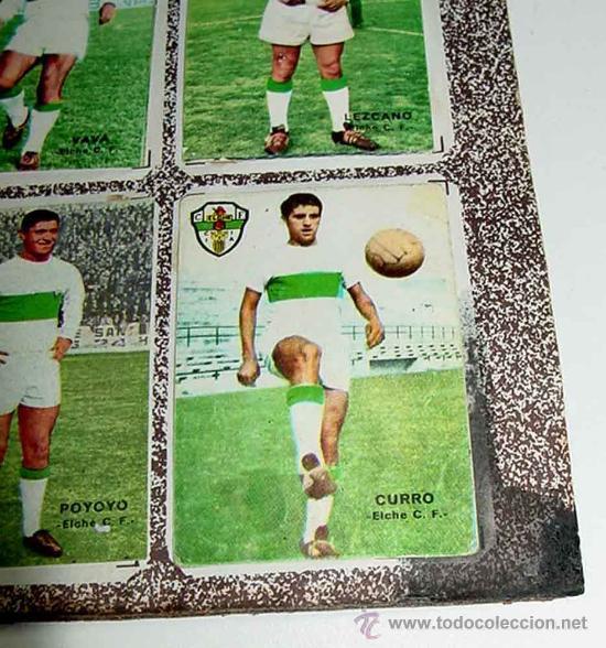 Álbum de fútbol completo: ANTIGUO ALBUM CROMOS COMPLETO DEL CAMPEONATO DE LIGA 1967 / 68 - FUTBOL - Album de Editorial Disgra - Foto 5 - 27301850