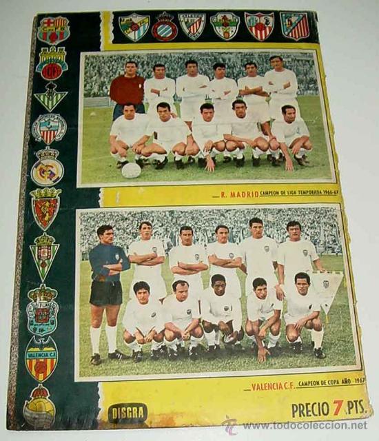 Álbum de fútbol completo: ANTIGUO ALBUM CROMOS COMPLETO DEL CAMPEONATO DE LIGA 1967 / 68 - FUTBOL - Album de Editorial Disgra - Foto 6 - 27301850