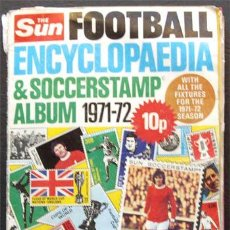 Álbum de fútbol completo: ALBUM DE CROMOS THE SUN 1971-72 - LIGA INGLESA - 100% COMPLETO. Lote 23843525