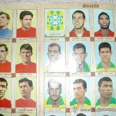 Álbum de fútbol completo: CAMPEONATO MUNDIAL DE FUTBOL 1966 EN INGLATERRA CON TODOS LOS FUTBOLISTAS. Lote 26618805