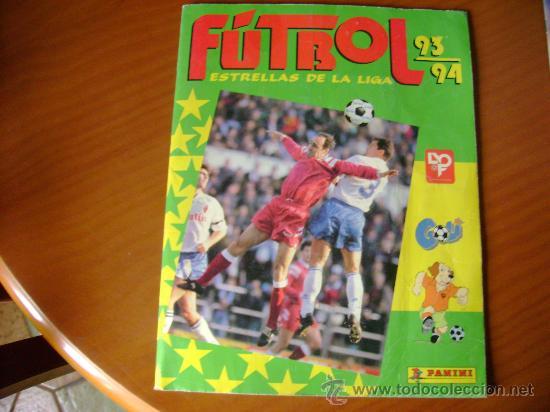 FUTBOL 93-94 ESTRELLAS DE LA LIGA (Coleccionismo Deportivo - Álbumes y Cromos de Deportes - Álbumes de Fútbol Completos)