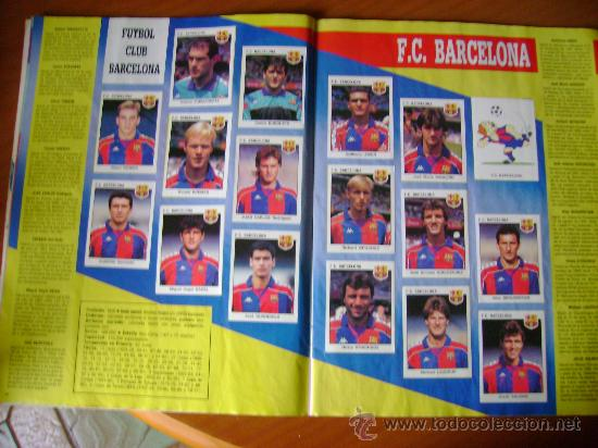 Álbum de fútbol completo: FUTBOL 93-94 ESTRELLAS DE LA LIGA - Foto 2 - 26512925