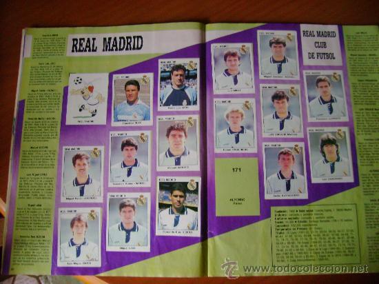 Álbum de fútbol completo: FUTBOL 93-94 ESTRELLAS DE LA LIGA - Foto 3 - 26512925