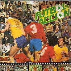 Álbum de fútbol completo: ALBUM DE CROMOS DE FUTBOL ---VACIO-- FUTBOL EN ACCION-FAMOSA SERIE DE TELEVISION-. Lote 21221848