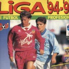 Álbum de fútbol completo: LIGA 94-95. PANINI. COMPLETO. ¡IMPECABLE!. Lote 22061955