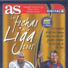 Álbum de fútbol completo: ALBUM DE FUTBOL 2004-2005 AS . . Lote 13421203