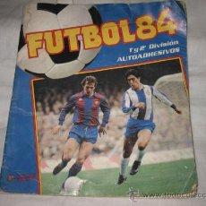 Álbum de fútbol completo: FUTBOL 84... 1ª Y 2ª DIVISION PANIN TIENE 32 CROMOS DE 420. Lote 14095645