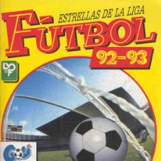 Álbum de fútbol completo: ALBUM DE CROMOS DE FUTBOL TOTALMENTE COMPLETO LIGA DE FUTBOL 92 - 93 1992 - 1993. Lote 23058643