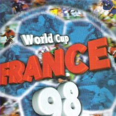 Álbum de fútbol completo: ALBUN WORLD CUP FRANCE 98 *** STICKE COLECCIONS *** FALTAN 2 DE 371. Lote 18554970