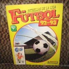 Álbum de fútbol completo: ESTRELLAS DE LA LIGA. FUTBOL 92-93. ALBUM DE CROMOS COMPLETO. DE PANINI.. Lote 25614556
