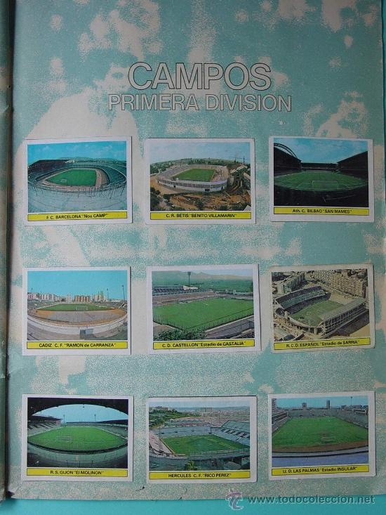 Álbum de fútbol completo: ÁLBUM FÚTBOL.LIGA 81-82.¡COMPLETO! - Foto 3 - 26737729