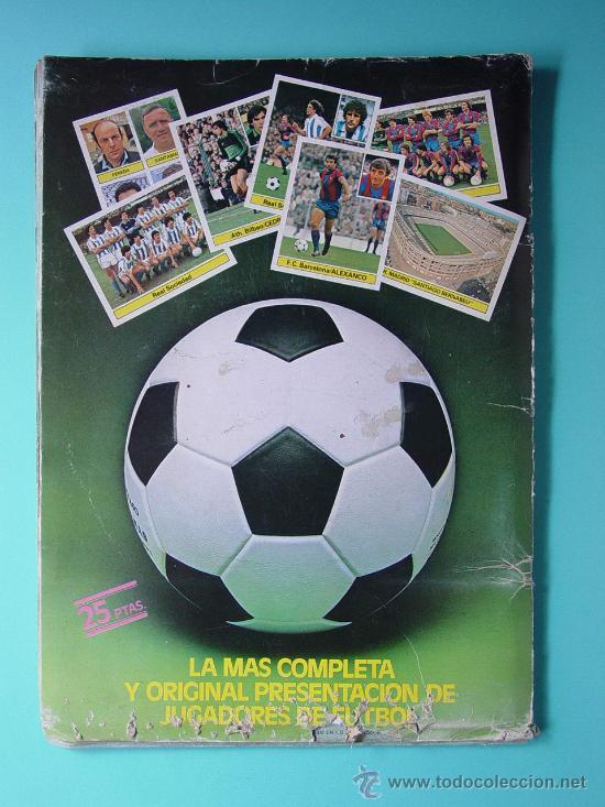 Álbum de fútbol completo: CONTRAPORTADA - Foto 6 - 26737729