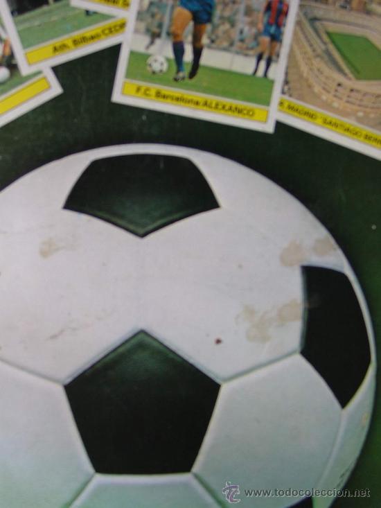Álbum de fútbol completo: DETALLE CONTRAPORTADA - Foto 7 - 26737729