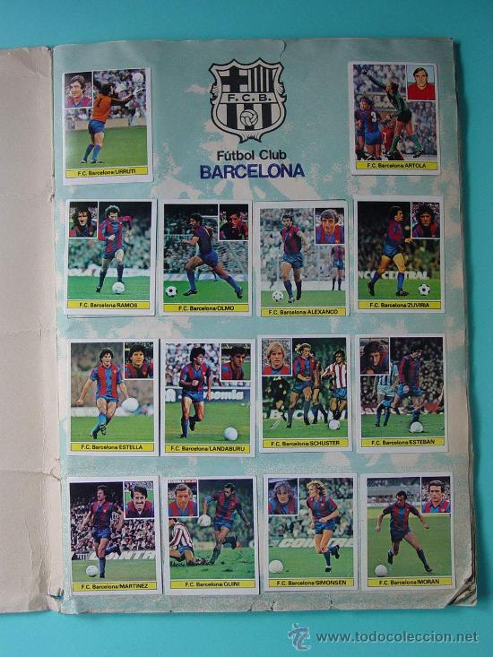 Álbum de fútbol completo: ÁLBUM FÚTBOL.LIGA 81-82.¡COMPLETO! - Foto 8 - 26737729