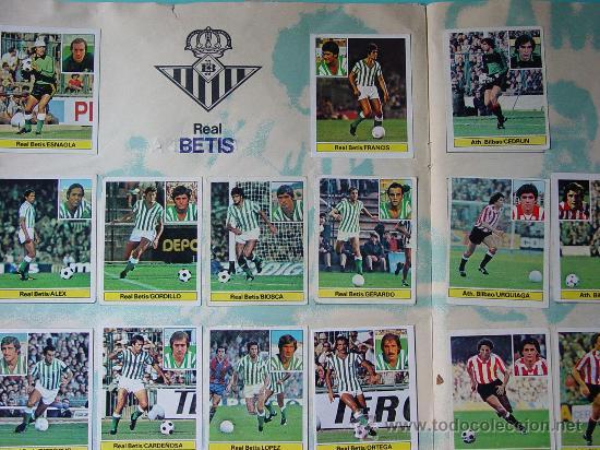 Álbum de fútbol completo: ÁLBUM FÚTBOL.LIGA 81-82.¡COMPLETO! - Foto 9 - 26737729