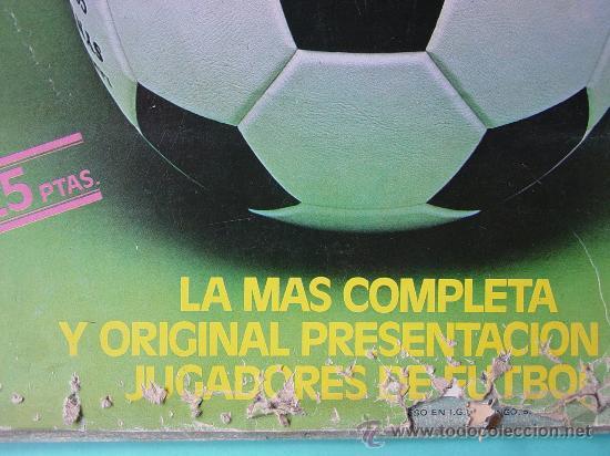Álbum de fútbol completo: ÁLBUM FÚTBOL.LIGA 81-82.¡COMPLETO! - Foto 11 - 26737729