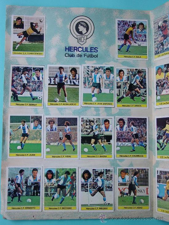 Álbum de fútbol completo: ÁLBUM FÚTBOL.LIGA 81-82.¡COMPLETO! - Foto 15 - 26737729