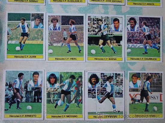 Álbum de fútbol completo: ÁLBUM FÚTBOL.LIGA 81-82.¡COMPLETO! - Foto 17 - 26737729