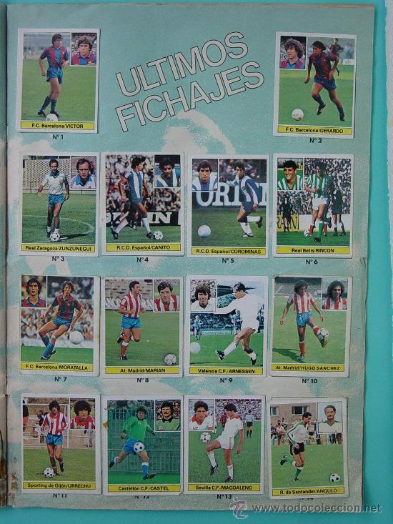 Álbum de fútbol completo: ÁLBUM FÚTBOL.LIGA 81-82.¡COMPLETO! - Foto 18 - 26737729