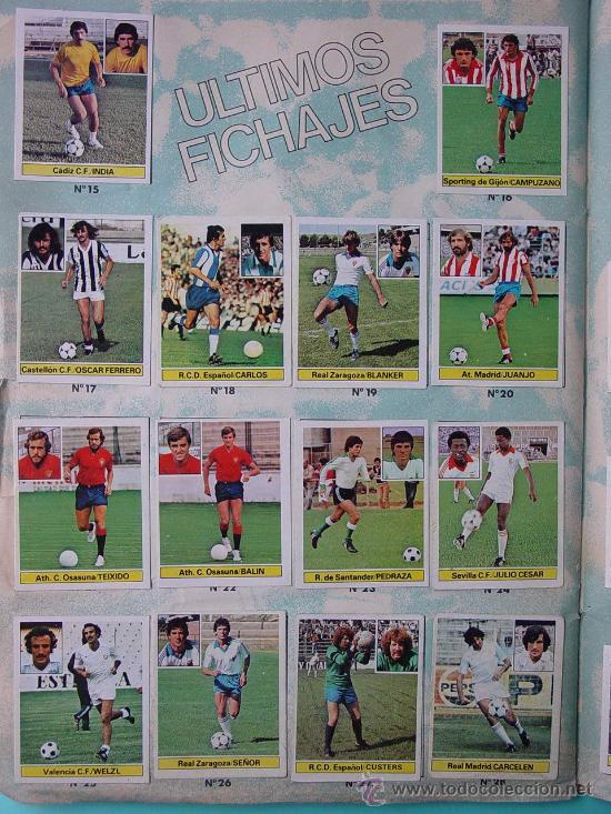 Álbum de fútbol completo: ÁLBUM FÚTBOL.LIGA 81-82.¡COMPLETO! - Foto 19 - 26737729
