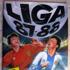 Álbum de fútbol completo: ALBUM LIGA 87-88 - 1987-1988 - EDICIONES ESTE - COMPLETO - VER EXPLICACIONES Y FOTOS INTERIORES. Lote 26337922