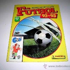 Álbum de fútbol completo: ALBUM ESTRELLAS DE LA LIGA FÚTBOL 92-93, ED. PANINI, COMPLETO. Lote 23356550