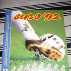 Álbum de fútbol completo: ALBUM CROMOS PANINI EURO 88 Y PANINI EURO 92 COMBO MAGIC FUTBOL MATERIAL DE 1ª. Lote 17769629